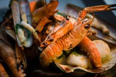 the salt room, brighton - definitely the best place for seafood and shellfish in brighton. amazing seafood platters, an impressive daily catch and even the starters are stunning. not to mention the fab gin list!