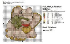 schemi a punto croce ispirati alla famose creazioni THUN Elephant Cross Stitch, Cross Stitch Animals, Just Cross Stitch, Simple Cross Stitch, Cross Stitch Designs, Cross Stitch Patterns, Plastic Canvas Patterns, Filet Crochet, Cross Stitch Embroidery