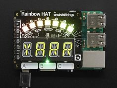 Pimoroni Rainbow HAT for Android Things + Raspberry Pi