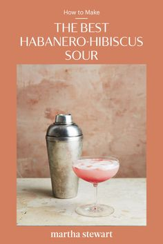 Homemade habanero-hibiscus syrup adds a spicy aromatic twist to an otherwise classic Pisco Sour. Nut Recipes, Apple Recipes, Kinds Of Pie, Pisco Sour, Savory Salads, Apple Season, Homemade Applesauce, No Bake Treats, Fun Drinks