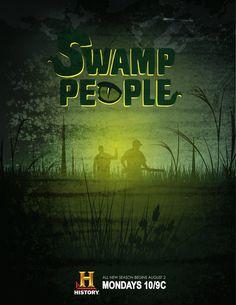 Swamp People by Ryan Magsino, via Behance