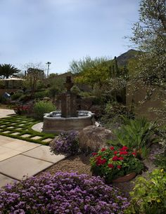 Mediterranean Landscape Design, Pictures, Remodel, Decor and Ideas - page 14