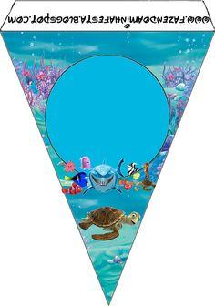 Ideas y material gratis para fiestas y celebraciones Oh My Fiesta!: Imprimibles de Nemo 4.