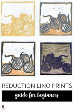 Reduction lino print