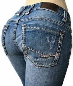 BKE-Buckle-Womens-Jeans-Size-29-Payton-Cropped-Distressed-Blue-Denim
