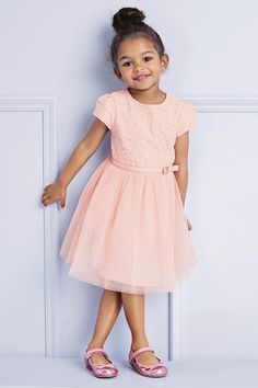 Buy Pink Lace Dress (3mths-6yrs) from the Next UK online shop