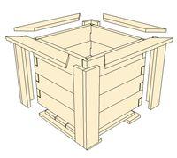 Octagon Planter Boxes Cedar Planter Box for Sale - Buy Octagon Planter Boxes Outdoor Planter Boxes, Balcony Planters, Cedar Planter Box, Wooden Garden Planters, Wooden Planter Boxes, Backyard Projects, Wood Projects, Boxes For Sale, Garden Boxes
