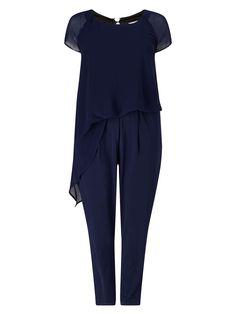 Studio 8 Raina Jumpsuit - House of Fraser Moda Xl, Navy Jumpsuit, House Of Fraser, Pajama Pants, Studio, Tops, Dresses, Women, Wedding