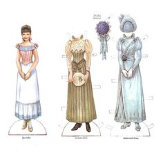 Victorian Bride and her trousseau Paper dolls - Maria Varga - Picasa Web Albums