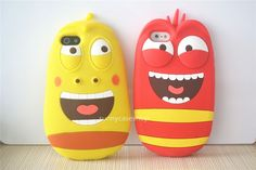 New cute 3D Farting Larva cartoon Silicone Soft Case cover for Apple iphone 5s 5 #Romrichcaseshop