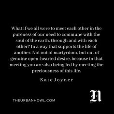 Kate Joyner - The Urban Howl