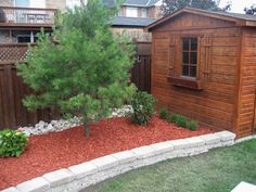 15 Best Red Mulch Images Mulch Landscaping Mulch Backyard