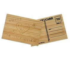 Holzpostkarte zum selber Gravieren geschenkidee.de/holzpostkarte-zum-selber-gravieren.html
