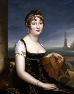 Caroline Bonaparte-Murat, Queen of Naples, 1808-15