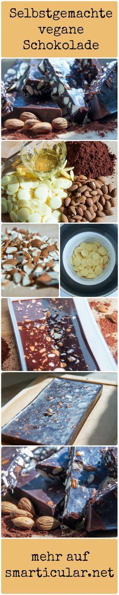 Schokolade macht glücklich, ist aber ungesund? Bestimme doch selber was in die Schokolade rein kommt: so wird sie gesünder und du wirst glücklicher! #schokolade #selbermacher #smarticular