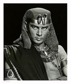 "Yul Brynner ""The Ten Commandments"" 1956 by Yousuf karsh"