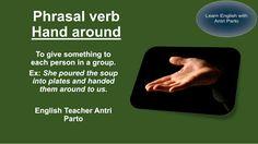 "Phrasal verb ""Hand around"" #LearnEnglish"