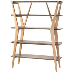 Twigs Shelves design by Lazy Susan ($1,598) ❤ liked on Polyvore featuring shelving