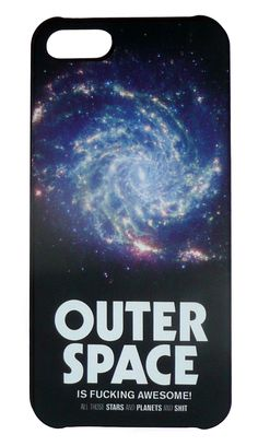 Outer Space Weltraum iPhone5 Case. Design aus Schweden by DEDICATED