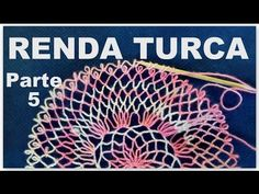 YouTube Crochet Stitches, Embroidery Stitches, Hand Embroidery, Needle Lace, Bobbin Lace, Romanian Lace, Irish Lace, String Art, Needlework