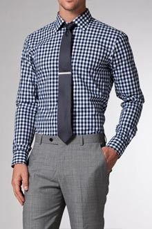 I would totally wear this to the office, provided I had an excellent tie bar, too.