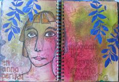 HELIOSKOOPPI - art journal - coloured stories: art journal 35 finished
