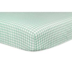Babyletto Tulip Garden Fitted Crib Sheet, Blue One size