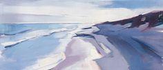 Walberswick Beach by Charlotte Evans - art print from King & McGaw