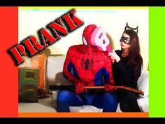 spiderman in real life fun videos