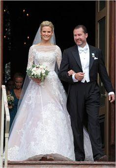 Princess Christina's son Gustaf Magnuson marries Vicky Andrén