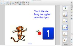 10 Apples Smartboard activity to share