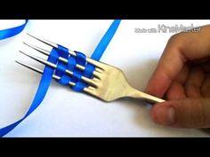 Супер-быстрый Бант из атласной ленты своими руками. Как сделать БАНТИК ИЗ ЛЕНТЫ Поделки с детьми! - YouTube