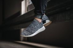 The adidas NMD City Sock 2 Sashiko is featured in another lifestyle look and it's dropping on August 17th.