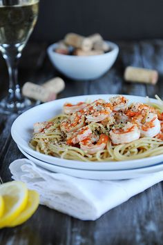 lemon pepper shrimp pasta
