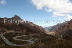 Cesta přes peruánské Andy