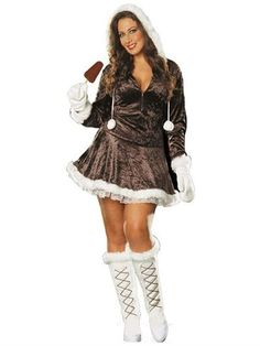 ee92a84d13f Plus size Halloween Costumes for Women. Eskimo Cutie Plus Size Costume  available at Teezerscostumes.