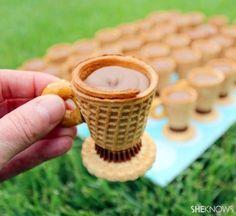 DIY Mini Tea Cup Cookies
