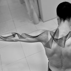 geometric arms tattoos - Google Search