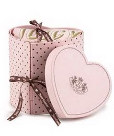 Juicy Couture ~ love the heart box