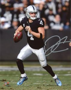 dc310cac8 Derek Carr Oakland Raiders Autographed 8