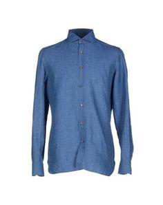 #Luigi borrelli napoli camicia jeans uomo Carta da zucchero  ad Euro 163.00 in #Luigi borrelli napoli #Uomo jeans camicie jeans