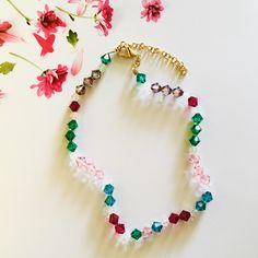 Poéta Rainbow necklace Fantasy Jewelry, Jewelry Art, Swarovski, Beaded Necklace, Rainbow, Hand Painted, Color, Beaded Collar, Rain Bow