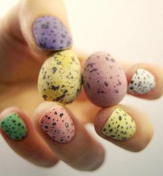 #easter #nails #candy