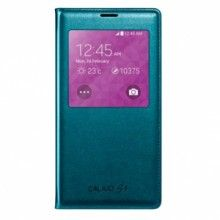 Custodia Samsung Galaxy S5 S-View Cover Originale Verde  € 44,99