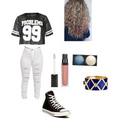 Untitled #69 by averyvalclaunch on Polyvore featuring polyvore, fashion, style, Converse, Ciner and Chanel