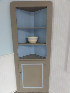 Silver Pennies: Coco Corner Cabinet (Before & After)