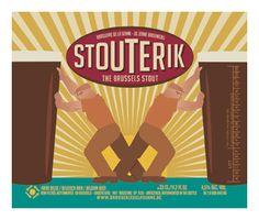 brasserie de la Senne beer 'Stouterik'