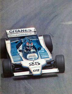 M o n a c o 1979 Patrick Depailler Ligier JS11