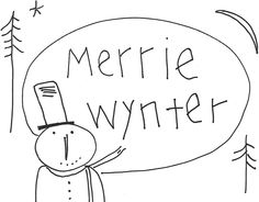 With Hook and Needle: Merrie Wynter Freebie
