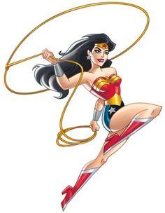 Mulher Maravilha - Galeria de Personagens de Desenhos Animados - GPDesenhos.com.br